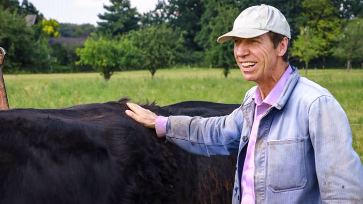Galloway-Züchter Jürgen Greiner