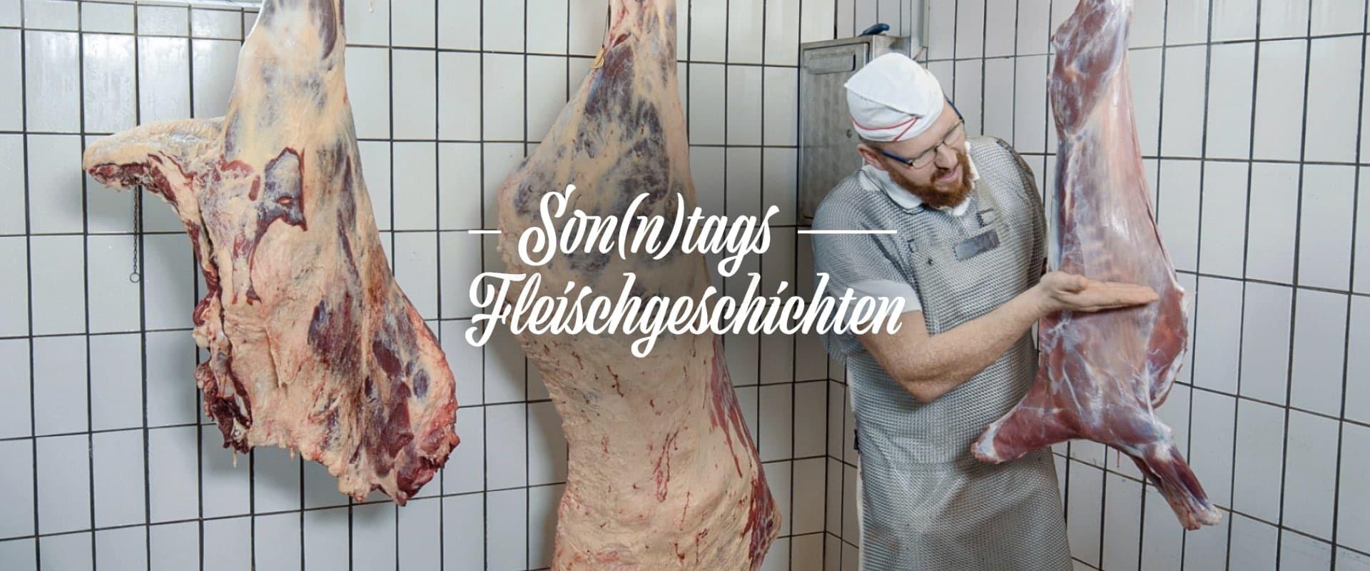 Son(n)tags Fleischgeschichten: Was Rind, Mensch, Hund und Ziege verbindet