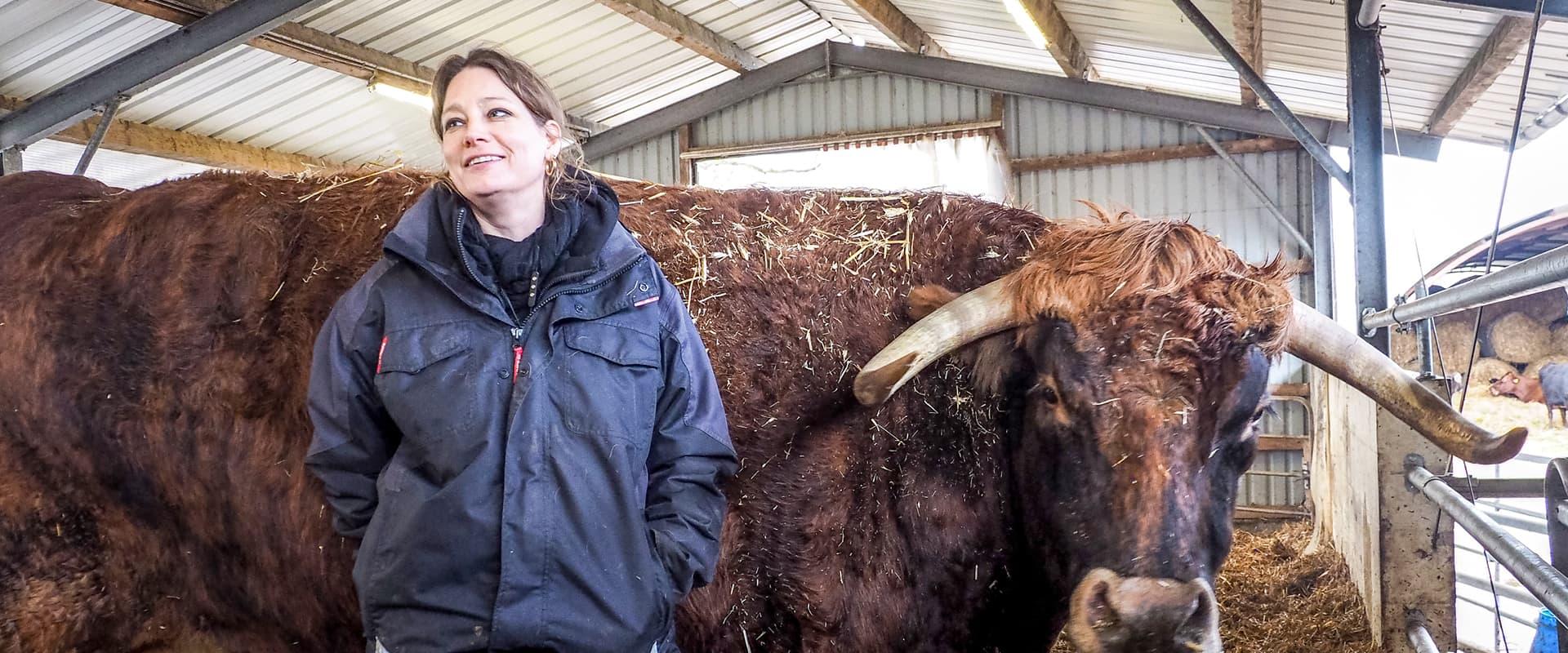 """""""Ans Töten gewöhnt man sich nicht"""": Anna Butz und ihre Wagyus"""