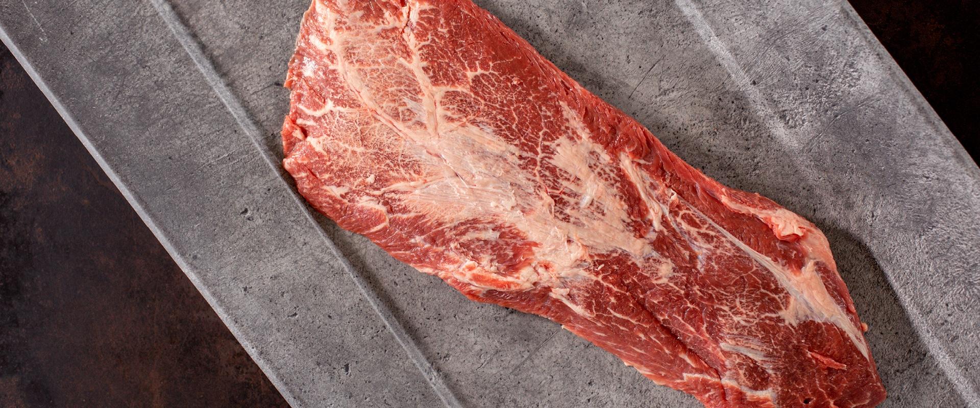Flat Iron Steak: Das zarte Marmorierungswunder aus der Schulter