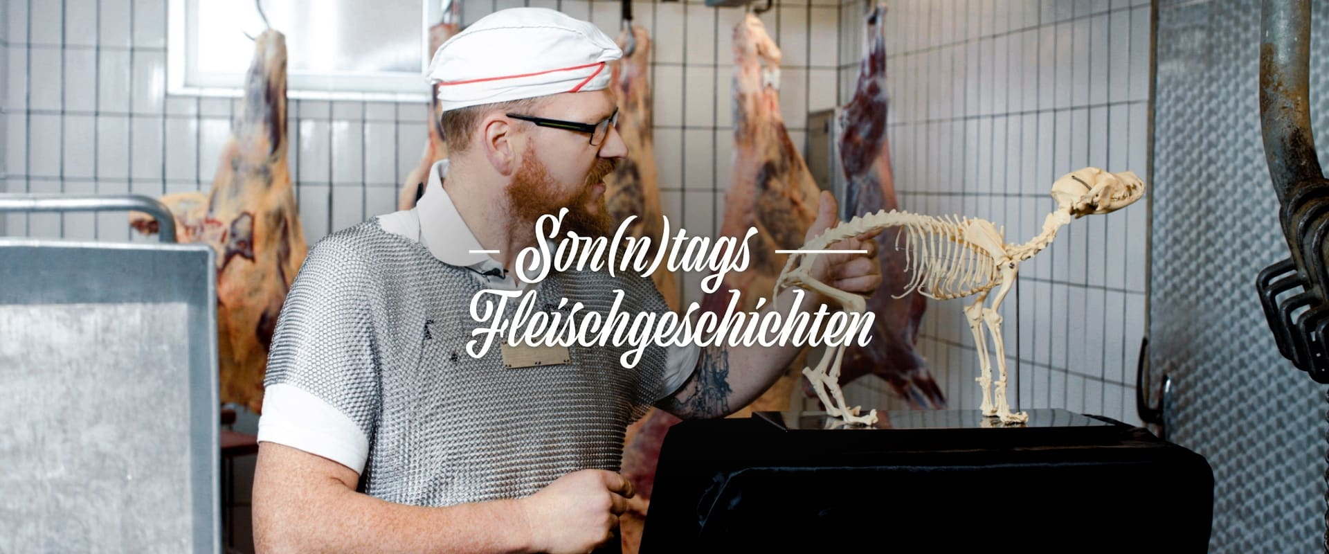 """Son(n)tags Fleischgeschichten: """"Es gibt keine guten und schlechten Teile am Tier"""""""